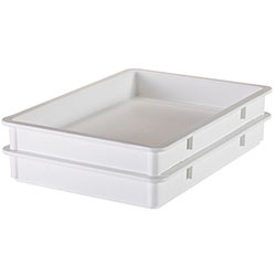 Cambro Pizza Dough Box 18 in X 26 in X 3 in White