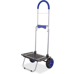 dbest Bigger Mighty Max Dolly, 14 in x 18 in x 40 in, Blue