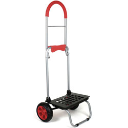 dbest Might Max Dolly, 160 lb Capacity, 15 in x 14 in x 38 in, Red