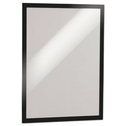 Durable DURAFRAME Sign Holder, 11 x 17, Black Frame, 2/Pack