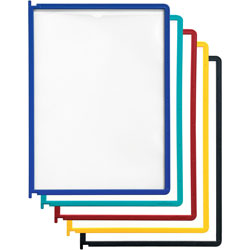Durable Panels, Refill, Letter Size, Set of 5, Assorted