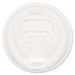 Dart Optima Reclosable Lid, Fits 12-24 oz Foam Cups, White, 1000/Carton