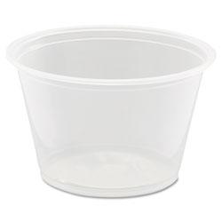 Dart Conex Complements Portion/Medicine Cups, 4oz, Clear, 125/Bag, 20 Bags/Carton