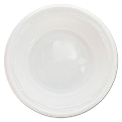 Dart Famous Service Impact Plastic Dinnerware, Bowl, 5-6 oz, White, 125/Pack