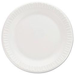 Dart Non-Laminated Foam Dinnerware, Plates, 7 inDiameter, White,125/Pack,8/Carton