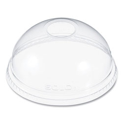 Dart Ultra Clear Dome Cold Cup Lids f/16-24 oz Cups, PET, 1000/Carton