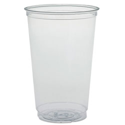 Solo Ultra Clear PETE Cold Cups, 20 oz, Clear
