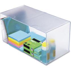 Deflecto Desk Cube, Double Cube, 6 x 12 x 6