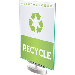 Deflecto Sign Holder 7 in x 5 in, Clear