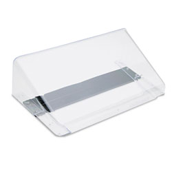 Deflecto Magnetic DocuPocket Wall File, Letter, 13 x 7 x 4, Clear