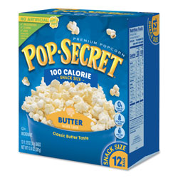 Diamond Microwave Popcorn, Butter, 1.2 oz Bags, 12/Box