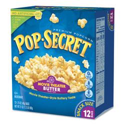 Diamond Microwave Popcorn, Movie Theatre Butter, 1.75 oz Bags, 12/Box