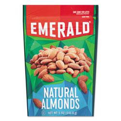 Emerald Natural Almonds, 5 oz Bag, 6/Carton