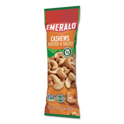 Emerald Cashew Pieces, 1.25 oz Tube Package, 12/Box