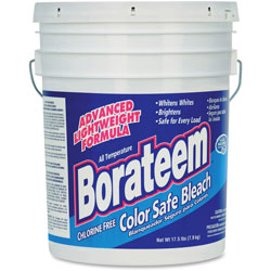 Dial Chlorine-Free Color Safe Bleach, Powder, 17.5 lb. Pail