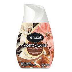 Renuzit® Adjustables Air Freshener, Vanilla, Apricot Blossom & Almond, 7 oz Solid, 12/Carton