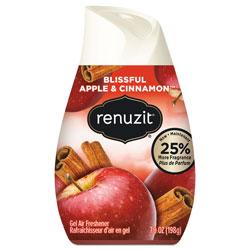 Renuzit® Adjustables Air Freshener, Blissful Apples and Cinnamon, 7 oz Cone, 12/Carton