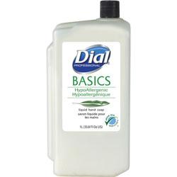 Dial HypoAllergenic Hand Soap Refill, 1L, White