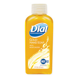 Dial Gold Antimicrobial Liquid Hand Soap, Floral Fragrance, 2 oz Bottle, 48/Carton