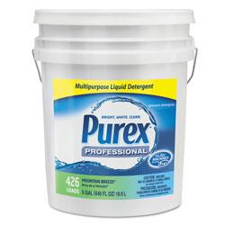 Purex Liquid Laundry Detergent, Mountain Breeze, 5 gal. Pail