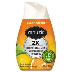 Renuzit® Adjustables Air Freshener, Citrus Sunburst, 7 oz Cone, 12/Carton