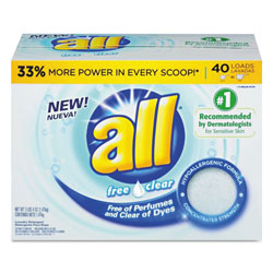 All All-Purpose Powder Detergent, 52 oz Box
