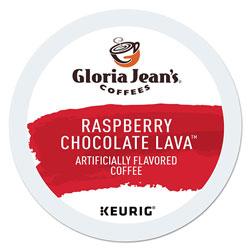 Gloria Jean's® Raspberry Chocolate Lava K-Cup, Raspberry Chocolate Lava, 24/Box