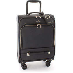 bugatti Travel Bag, Presto Collection, Carry On, 9 inWx20 inLx14 inH, Black