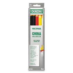 Naturelle® China Marker, Assorted, 5/Set