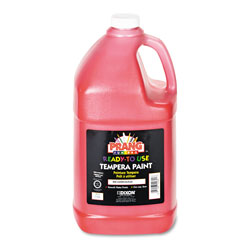 Prang Ready-to-Use Tempera Paint, Red, 1 gal