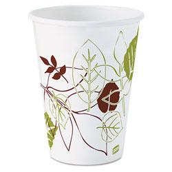 Dixie Pathways Paper Hot Cups, 12oz, 1000/Carton