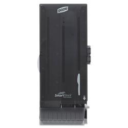 Dixie SmartStock Utensil Dispenser, Knife, 10 in x 8.75 in x 24.5 in, Translucent Gray