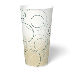International Paper Champagne Paper Cold Cup, 22 oz.
