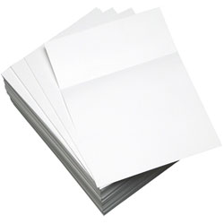 Domtar Custom Cut-Sheet Copy Paper, 92 Bright, 20lb, 8.5 x 11, White, 500/Ream