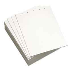 Domtar Custom Cut-Sheet Copy Paper, 92 Bright, 5-Hole, 20lb, 8.5 x 11, White, 500/Ream