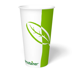 ecotainer Paper Cold Cup, 32 oz.