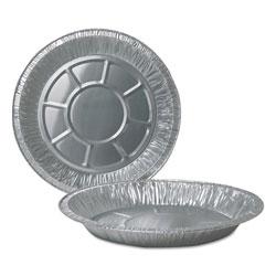 Durable Packaging Aluminum Pie Pans, 10 in Dia., Deep, 500/Carton