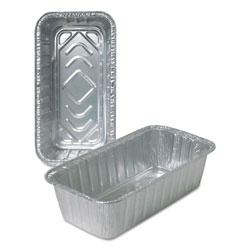Durable Packaging Aluminum Loaf Pans, 2 lb, 500/Carton