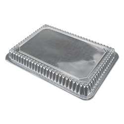 Durable Packaging Dome Lids for 1.5 lb, 2 lb and 2.25 lb Oblong Containers, 500/Carton