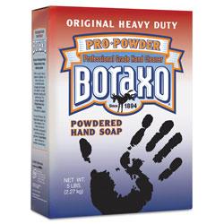 Dial Powdered Original Hand Soap, Unscented Powder, 5lb Box, 10/Carton