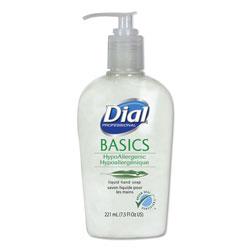 Dial Basics Liquid Hand Soap, 7.5 oz, Fresh Floral