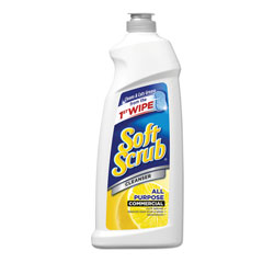 Soft Scrub® All Purpose Cleanser Commercial Lemon Scent 36oz