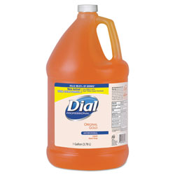 Dial Gold Antimicrobial Liquid Hand Soap, Floral Fragrance, 1 gal Bottle, 4/Carton