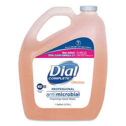 Dial Antimicrobial Foaming Hand Wash, Original Scent, 1gal