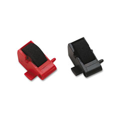 Data Products R14772 Compatible Ink Rollers, Black/Red, 2/Pack
