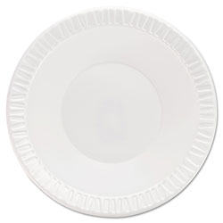 Dart Quiet Classic Laminated Foam Dinnerware Bowls, 10-12 Oz, White, 125/Pk