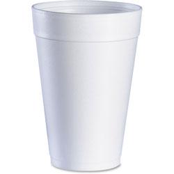 Dart Dart Big Drink Foam Cup, 32oz., 20/PK, White