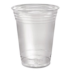 Solo Ultra Clear Cups, Squat, 16 oz, PET, 50/Pack