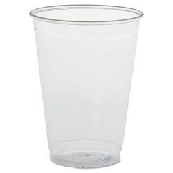 Solo Ultra Clear Cups, Tall, 9 oz, PET, 50/Bag, 1000/Carton