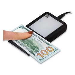 Drimark FlashTest Counterfeit Detector, MICR, UV Light, Watermark, U.S. Currency, Black